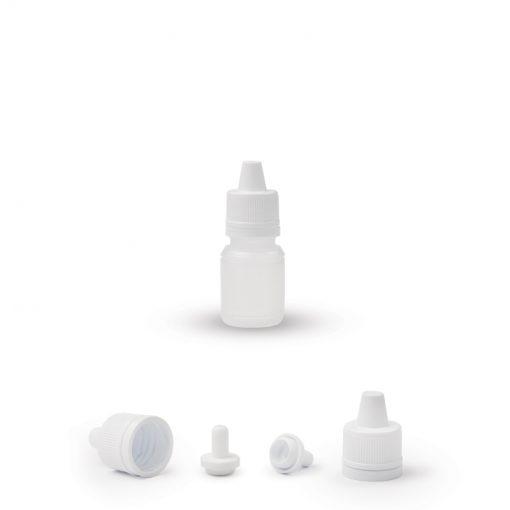 Plastična boca sa sigurnosnim tamper proof zatvaračem 10ml