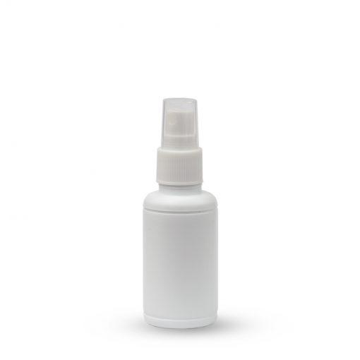 Plastična boca sa raspršivačem - okrugla 50ml