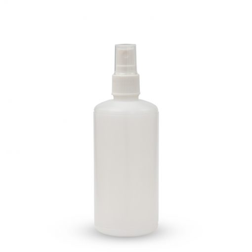 Plastična boca sa raspršivačem - okrugla 200ml