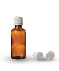 Farmaceutska staklena boca sa pripadajućom kapaljkom i zatvaračem 30ml